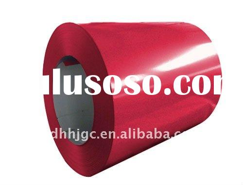 Prepainted galvanized steel coil and plate