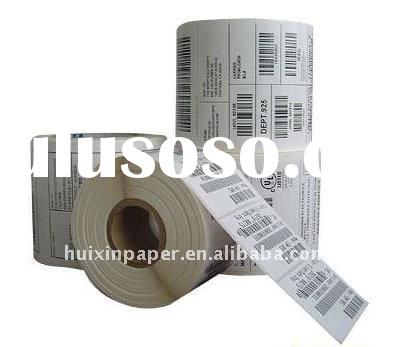 cast coated adhesive paper