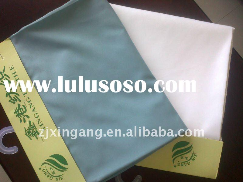 100 Polyester Peach Skin Dyed Fabric