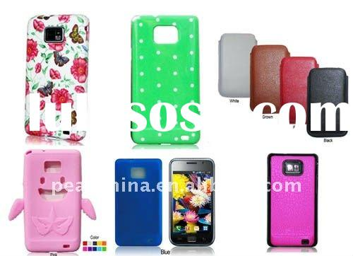 Amazing mobile phone back cover skin case for Samsung i9100 Galaxy S2