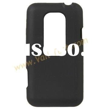 Black Elegant Decent Design Silicone Skin Case Cover for HTC EVO 3D