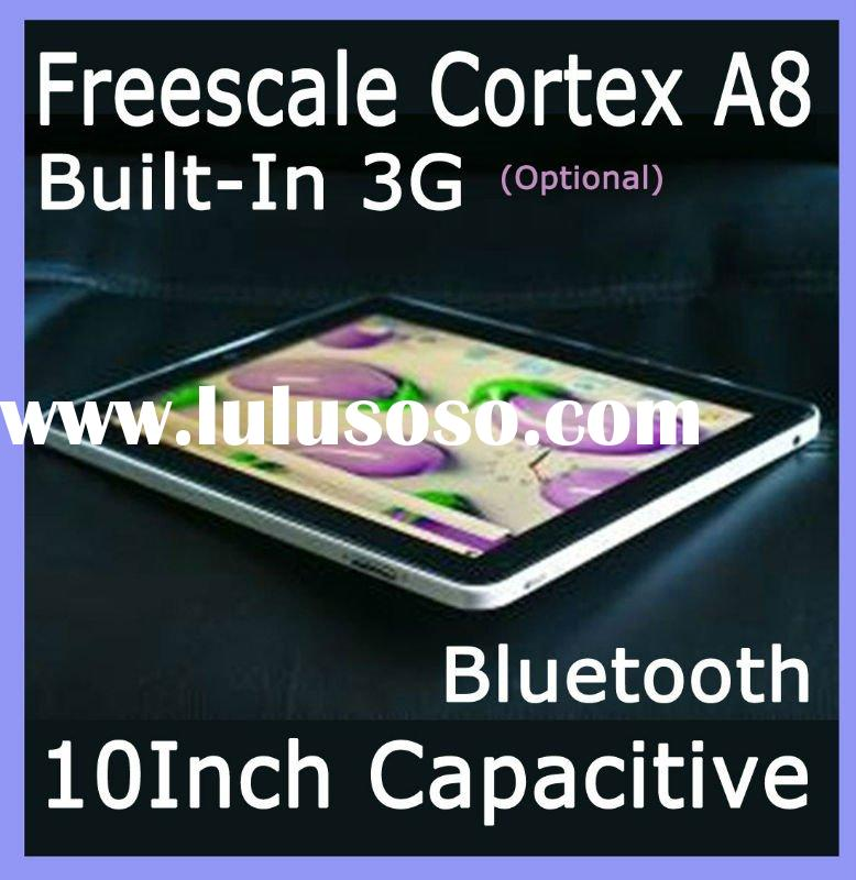 Builit-in 3G Capacitive Android 2.2 Tablet PC 10 inch