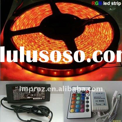 CE&RoHS approved High Quality 5050 SMD RGB LED Strip Light
