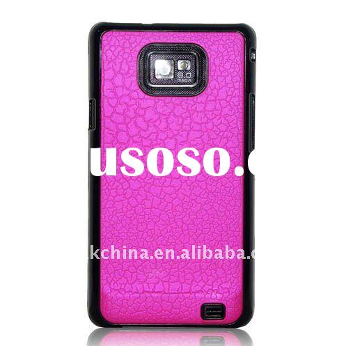 Hot-sale Hard Plastic skin Case for Samsung i9100 Galaxy S2, (40631013F)