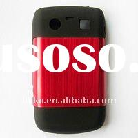 Silicone+Metal Case for Blackberry 9700/9020 BB-9700-U