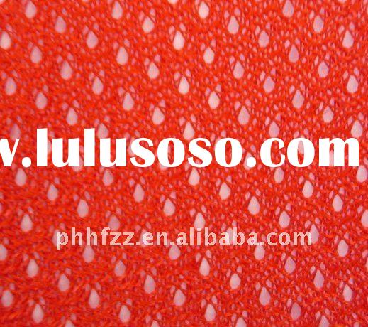 100% polyester jersey mesh fabric