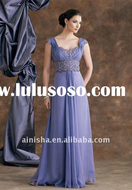 2011 simple Christmas sleeveless bule evening dress
