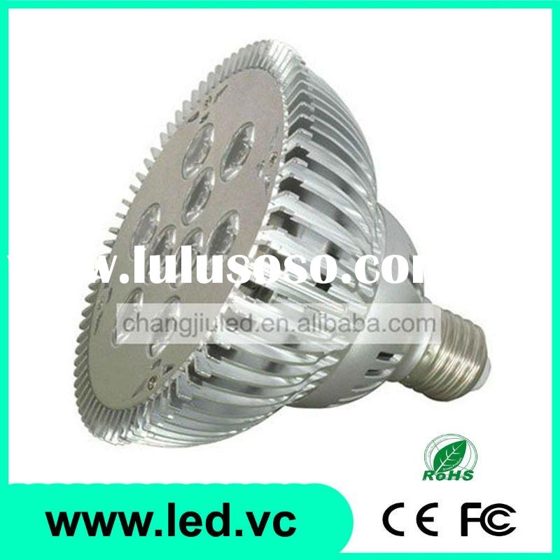 9x1W E27 Fitting Aluminium Bulb High Power LED Spotlight