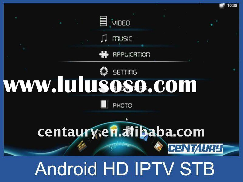 IPTV, IP STB, internet TV box (Android)