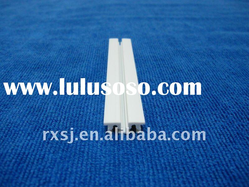 RX-0239 extrusion PVC profile for curtain track