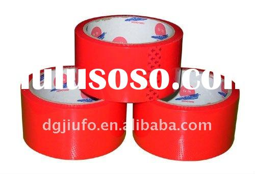 temperature resistant red color tape
