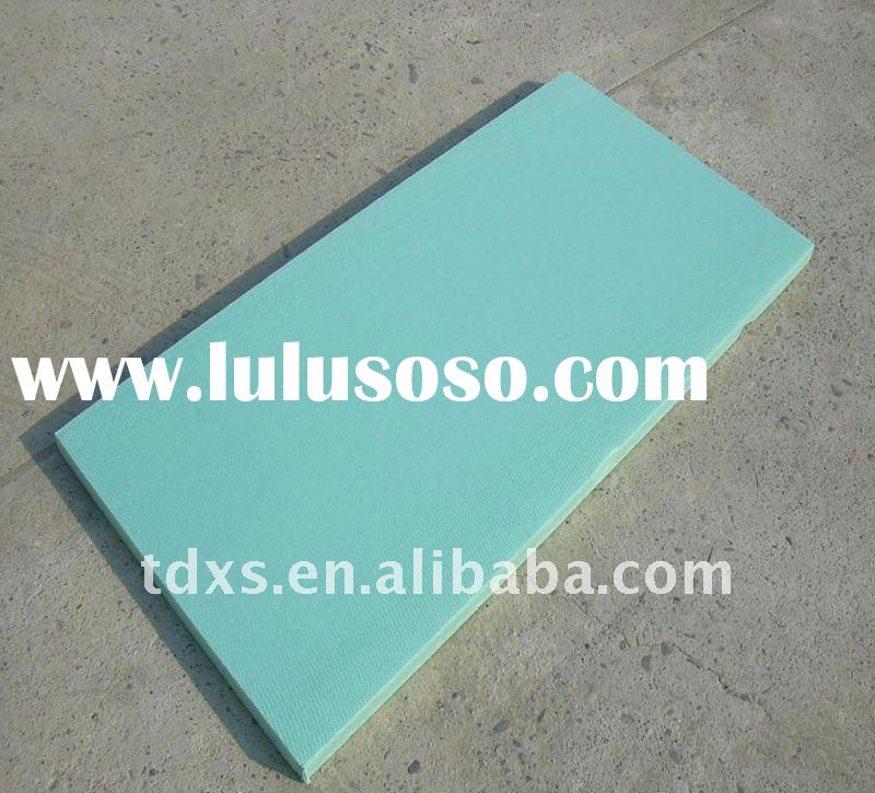 XPS foam Board/XPS extruded polystyrene board/polystyrene insulation board