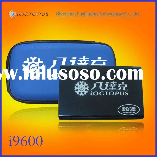 iOCTOPUS9600 portable power bank for iphone,ipad,3G,4G,mobile pnone..etc.