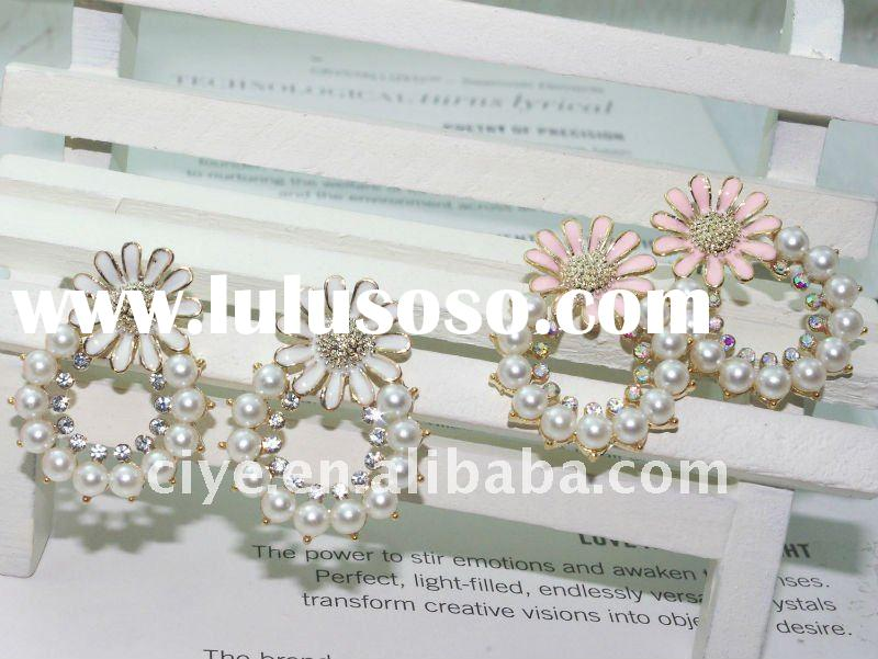 2011 New style crystal alloy earring