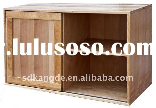 Shanghai Solid Wood Double Cabinet