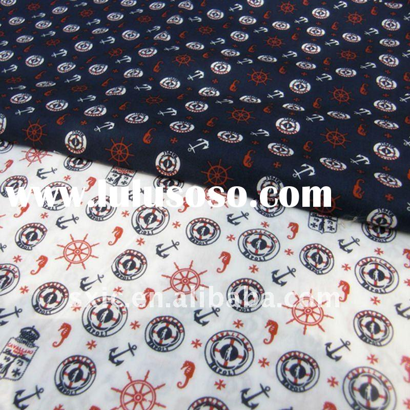 100% cotton printed poplin fabric/100% cotton fabric