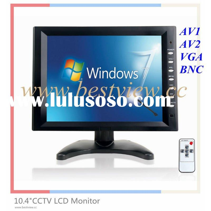 10.4 inch bnc monitor,lcd monitor with bnc input