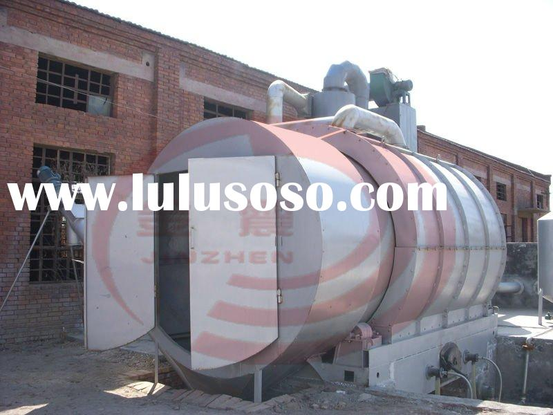 2011NEW !!! JZ JZC-007 waste tyre and plastic oil extraction machine