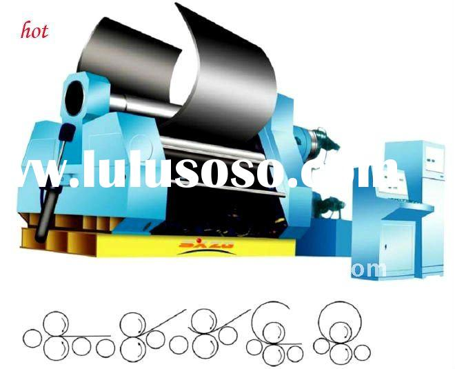 3 roller plate rolling machine China manufacture