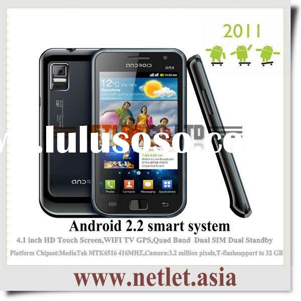 China Smart Android touch screen wifi mobile phone