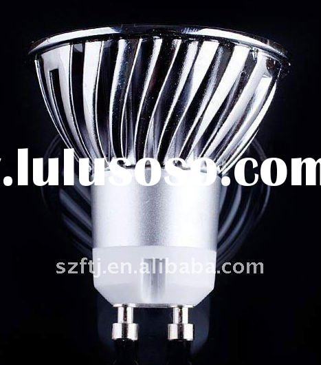 GU10 3*1W high power led spotlight