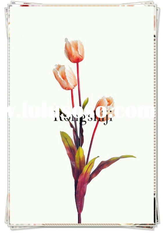Hot-selling Artificial Silk Tulip Flower