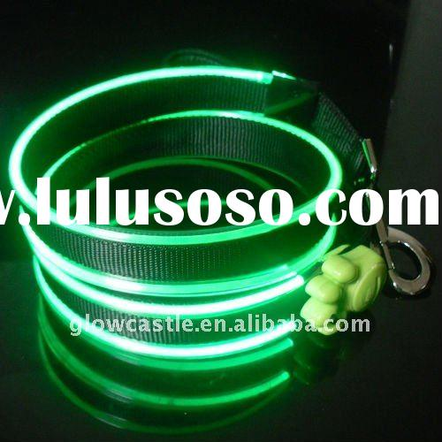 Wholesale Green LED Flashing Pet Leash