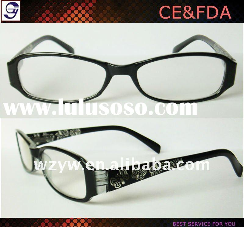 latest designer fashion ladies reading glasses frame in wenzhou
