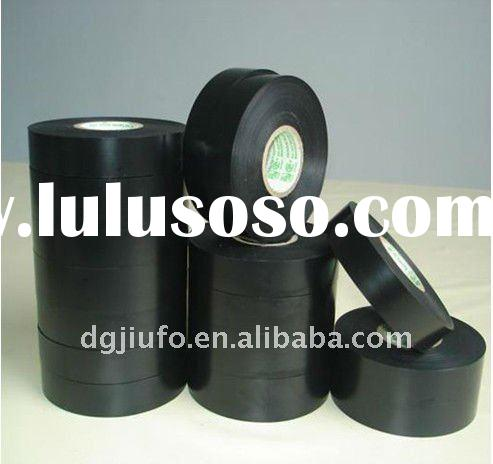 pure black and high quality PVC insulation electrical tape