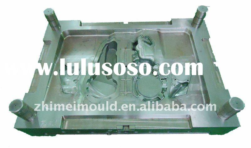 Car engine hood cover part mould