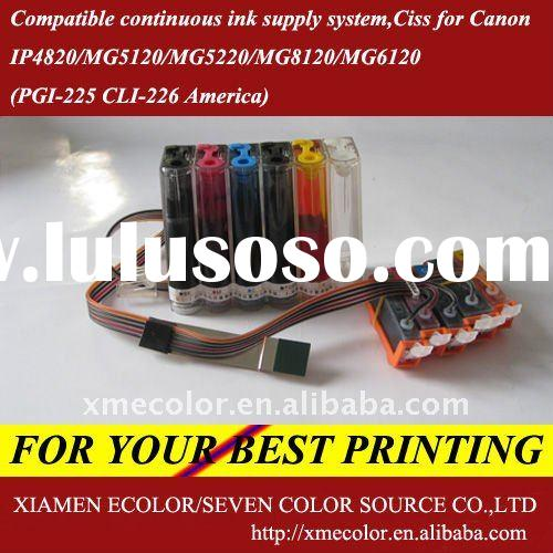 Compatible continuous ink supply system,Ciss for Canon printer IP4820/MG5120/MG5220/MG8120/MG6120(PG