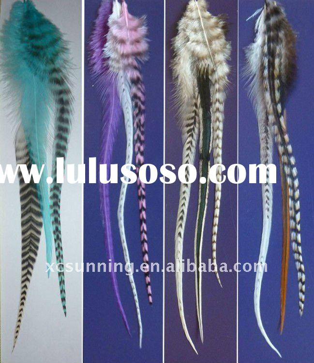 Hot Selling Feather hair Extension  human hair extension