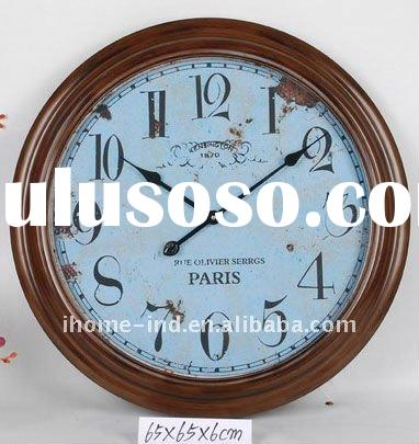 antique metal wall clock with high quality
