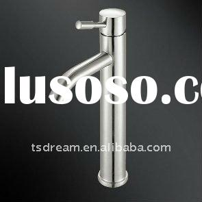 single handle stainless steel basin tap,Lead-free,clean style