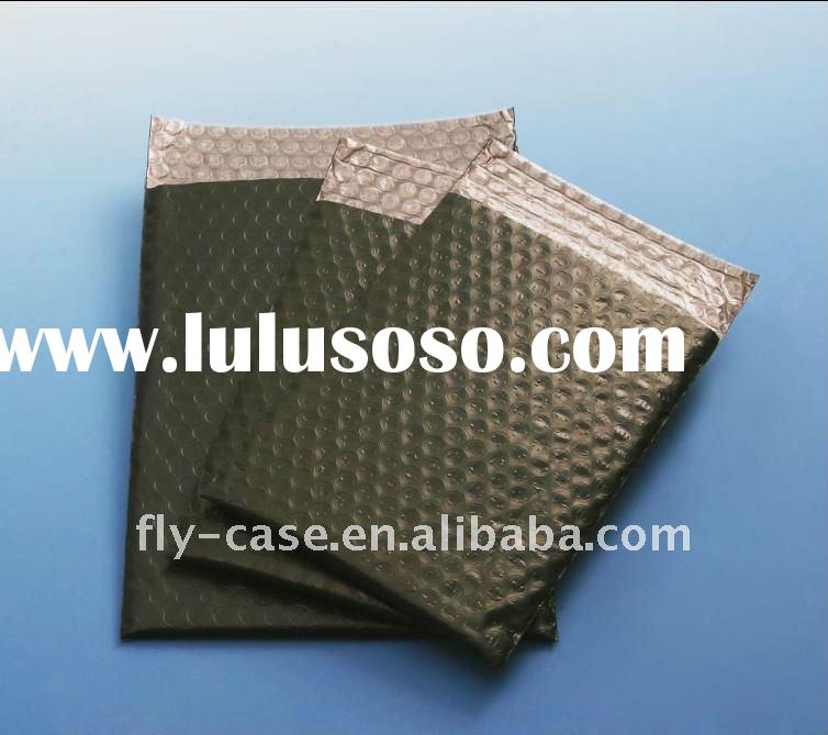 Anti-static aluminum bubble film black bubble bag Aluminum mailer bubble cushioned