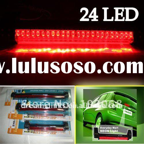 Brand New 24 LED Car / AUTO Rear Third Brake Light Lamp Stop Tail Red 12V Free Shipping