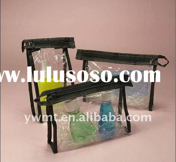 Clear pvc bag for cosmetic