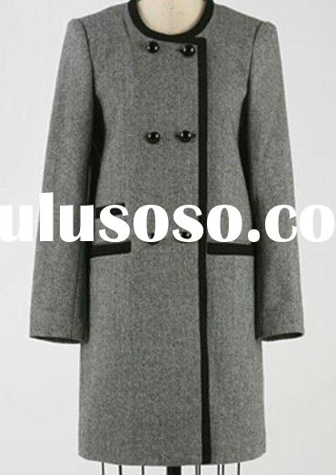 European Style Double Breasted Overcoat