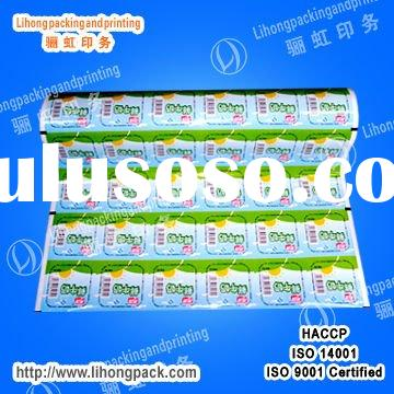 Plastic Packing of Food Grade--Cup Sealing Film