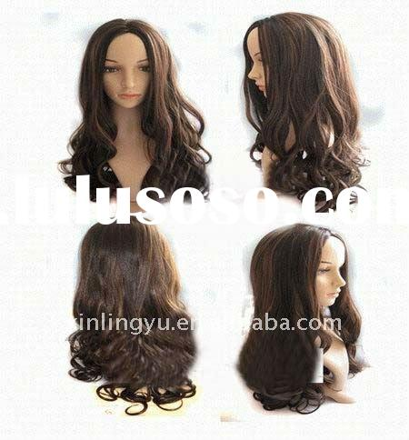 new fashion & fantacy curl synthetic wig  hair (various colors)