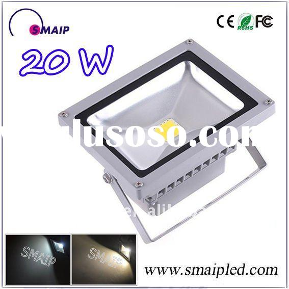 Sliver shell, high power 20w led flood light, 3 years warranty !