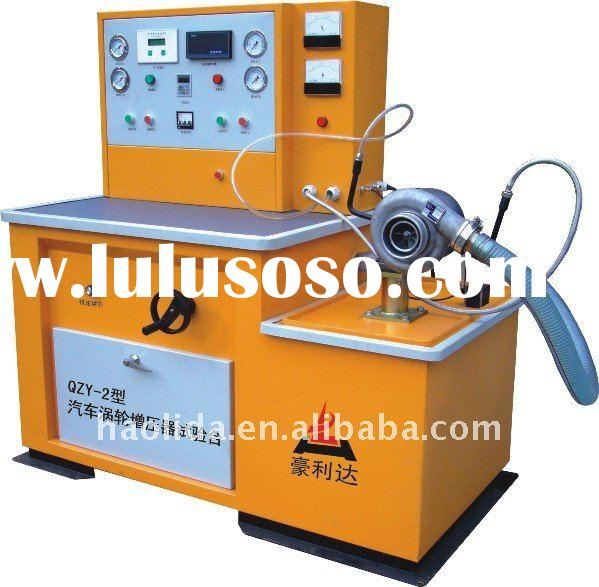 Auto Turbocharger Test Bench, test  boost pressure, air flow , lubrication of turbocharger