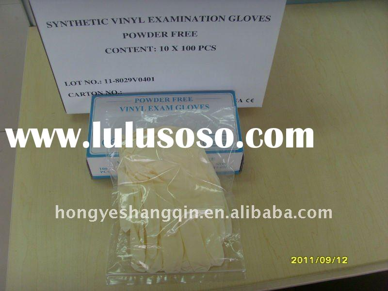 disposable vinyl gloves  with CE FDA