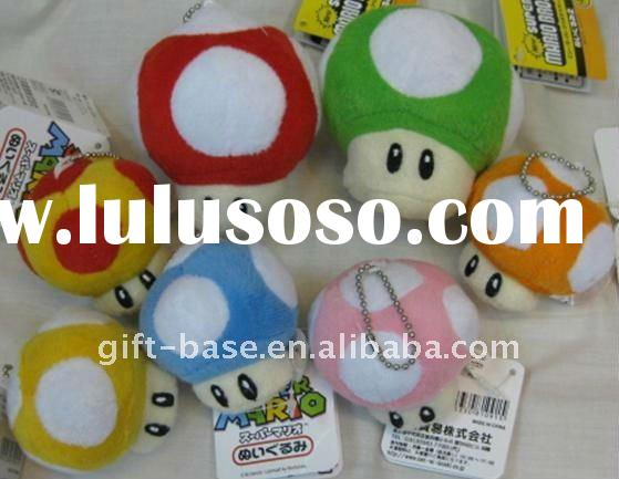 2011 hot selling super mario bros mushroom plush soft toys,super mario bros soft toy doll