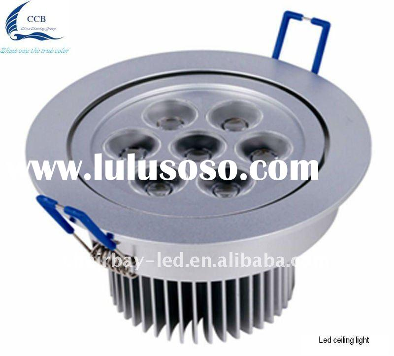 Modern design hot sale round 7w high quality led ceiling lighting