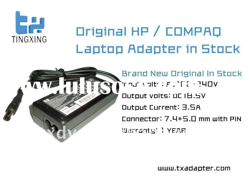 Original Laptop Adapter 18.5V 3.5A with 7.4 * 5.0mm with pin for hp compaq