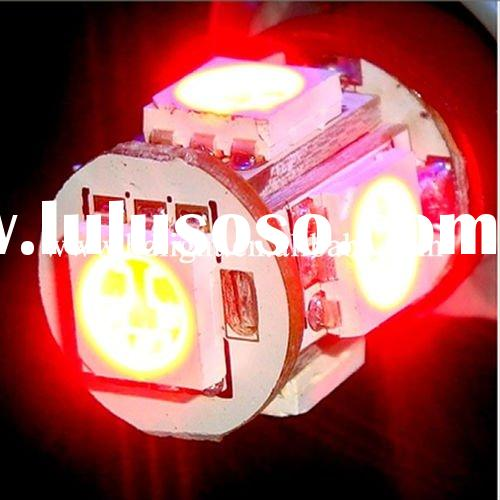 T10 5SMD SUPER HIGH RED LED CAR LIGHT