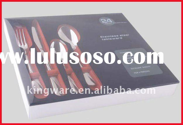 stainless steel 16&24pc cutlery set