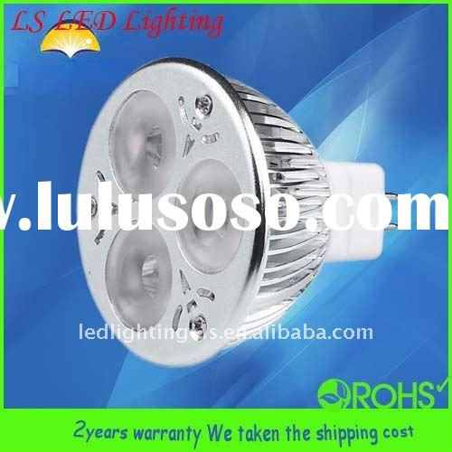 6W DC12V IC driver SCR dimmable LED spotlight MR16