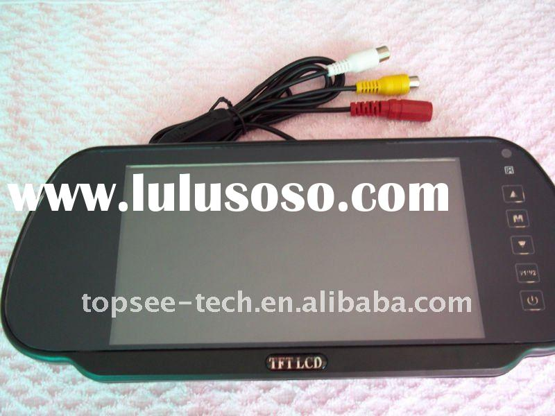 7 inch TFT LCD backup car mirror monitor